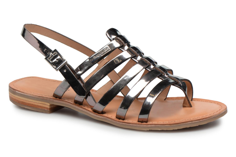 Sandales et nu-pieds Les Tropéziennes par M Belarbi Hemir Argent vue détail/paire