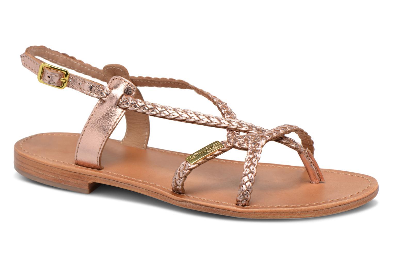 Les Tropéziennes par M Belarbi Bahamas (Rose) - Sandales et nu-pieds chez Sarenza (314894)