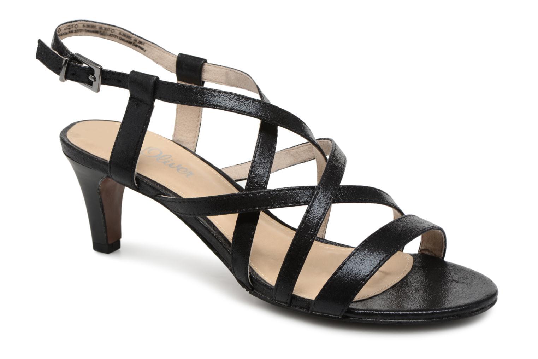 Duiga - Sandales Pour Femmes / S.oliver Noir 3lHc0