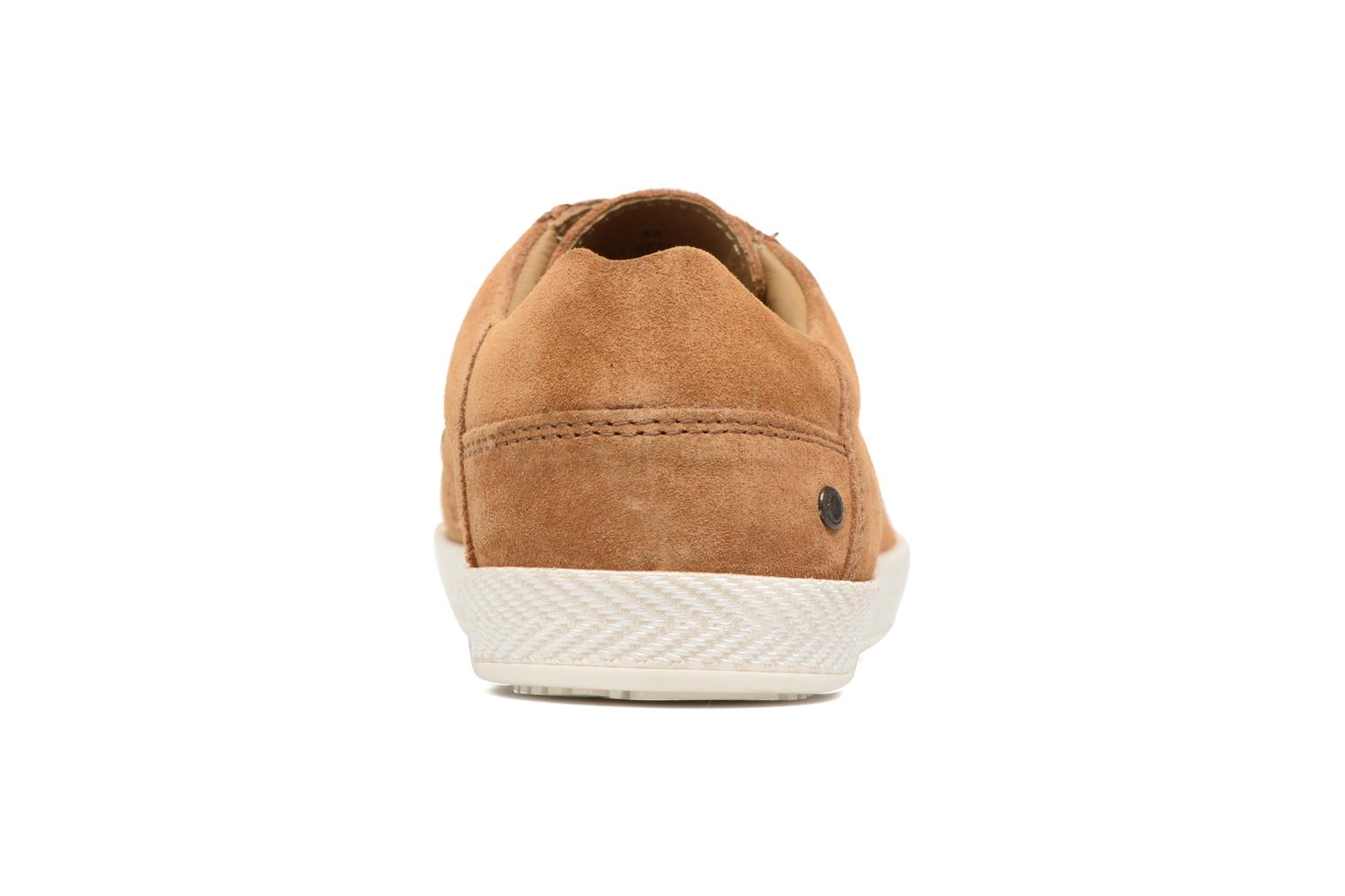 Trainers Base London Keel Brown view from the right