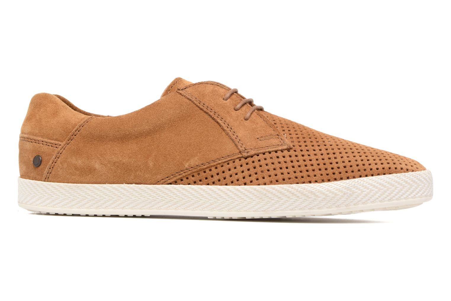 Trainers Base London Keel Brown back view