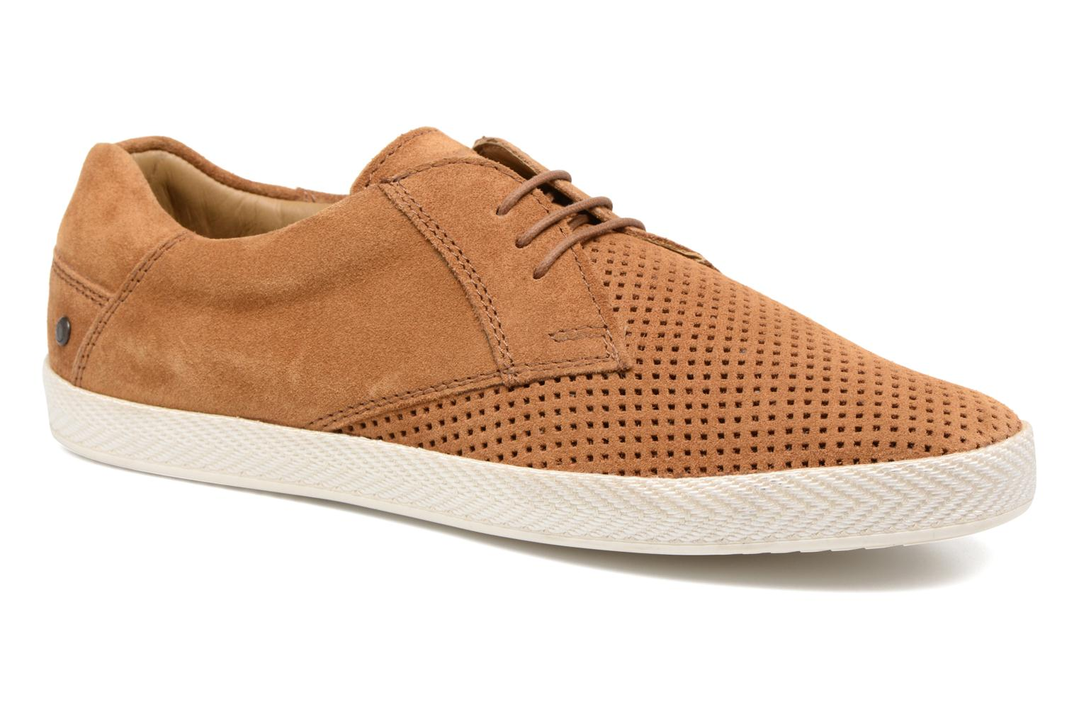 Trainers Base London Keel Brown detailed view/ Pair view