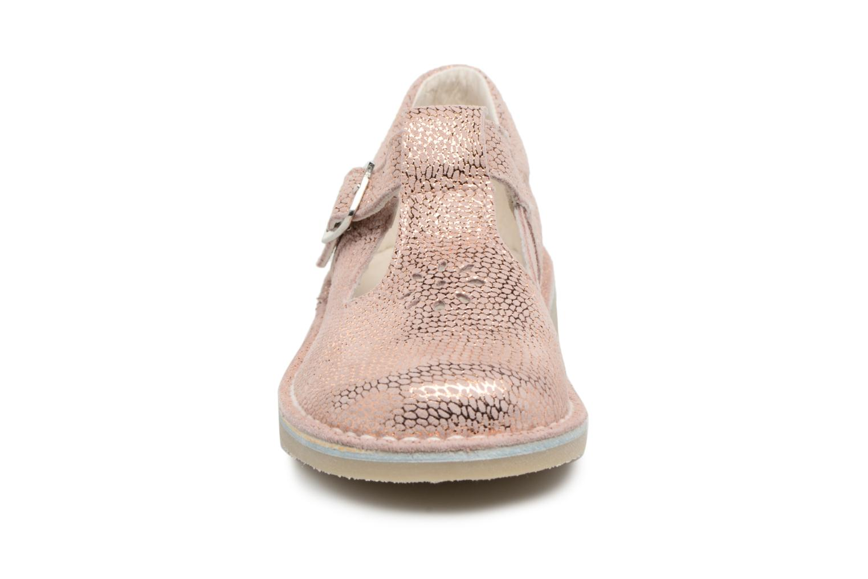 Ballerines Bopy Molani Rose vue portées chaussures
