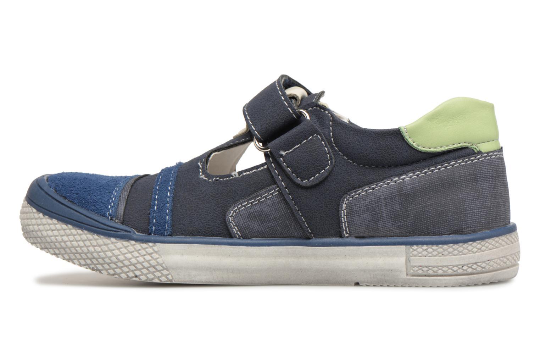 Sandals Bopy Noba Sk8 Blue front view