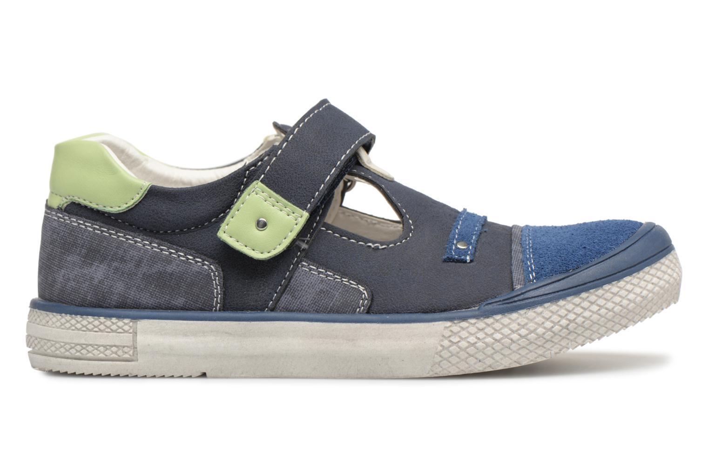 Sandals Bopy Noba Sk8 Blue back view