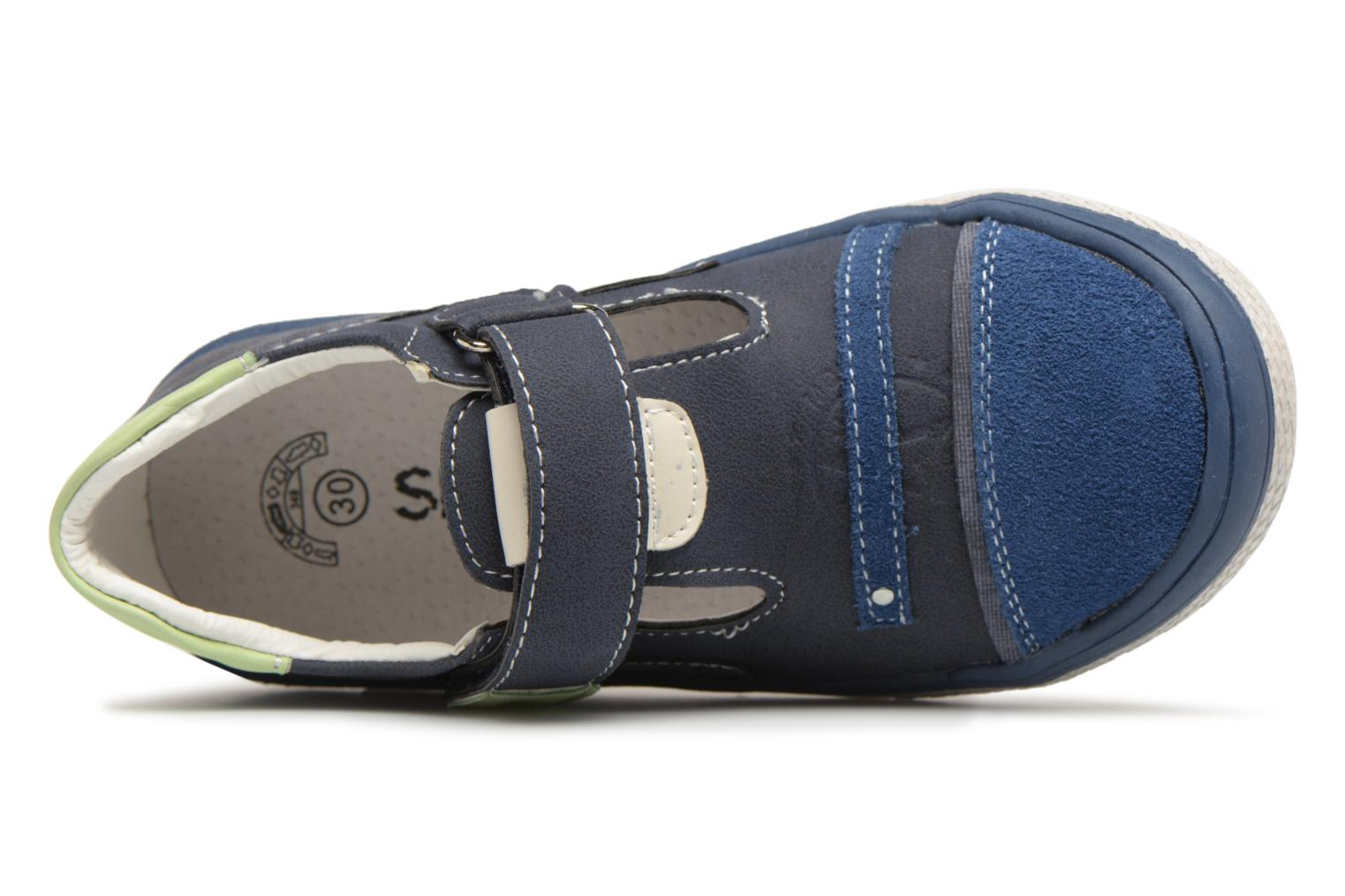 Sandals Bopy Noba Sk8 Blue view from the left