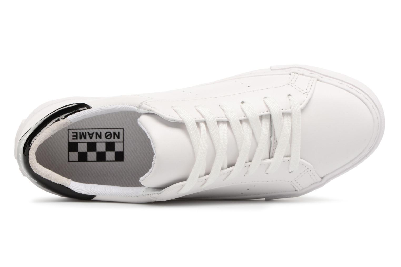 Baskets No Name Arcade Sneaker Nappa Blanc vue gauche