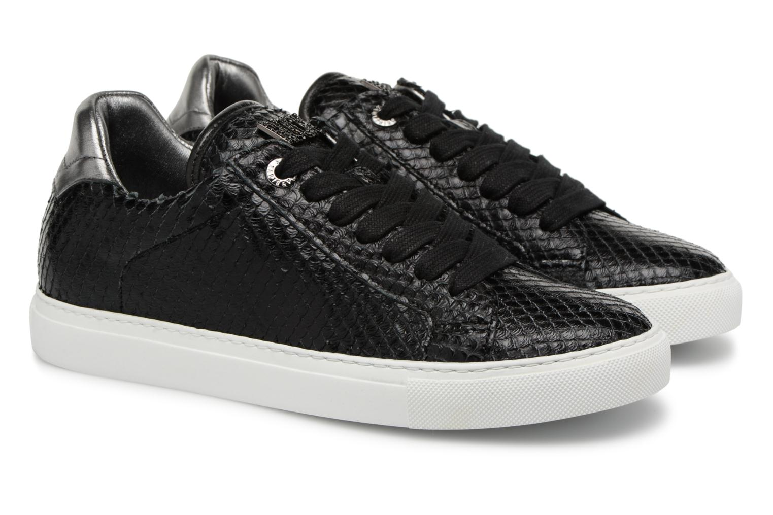 Trainers Zadig & Voltaire ZV1747 KEITH Black 3/4 view