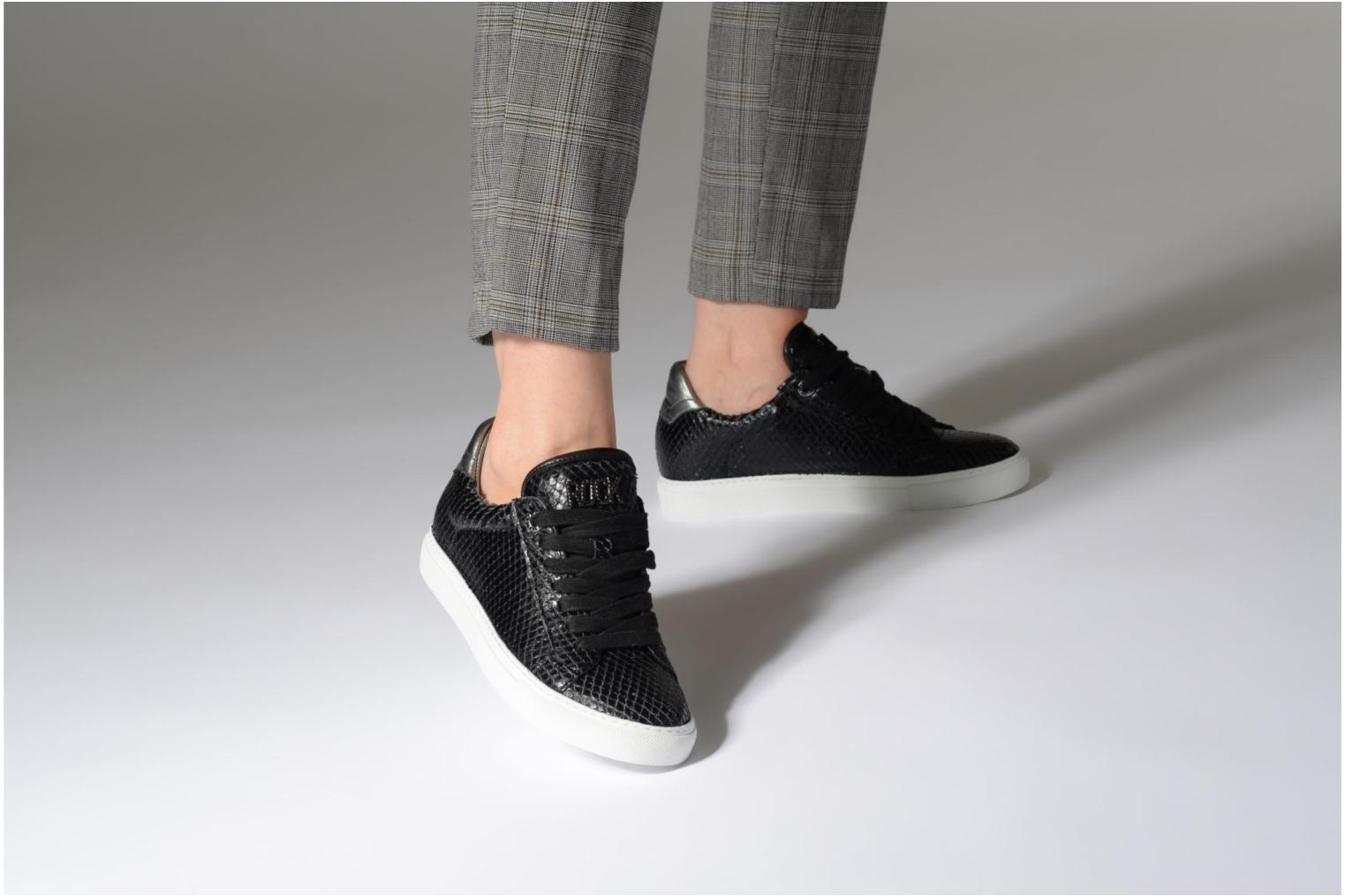 Trainers Zadig & Voltaire ZV1747 KEITH Black view from underneath / model view