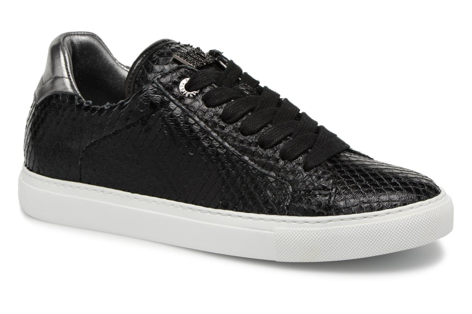 Trainers Zadig & Voltaire ZV1747 KEITH Black detailed view/ Pair view