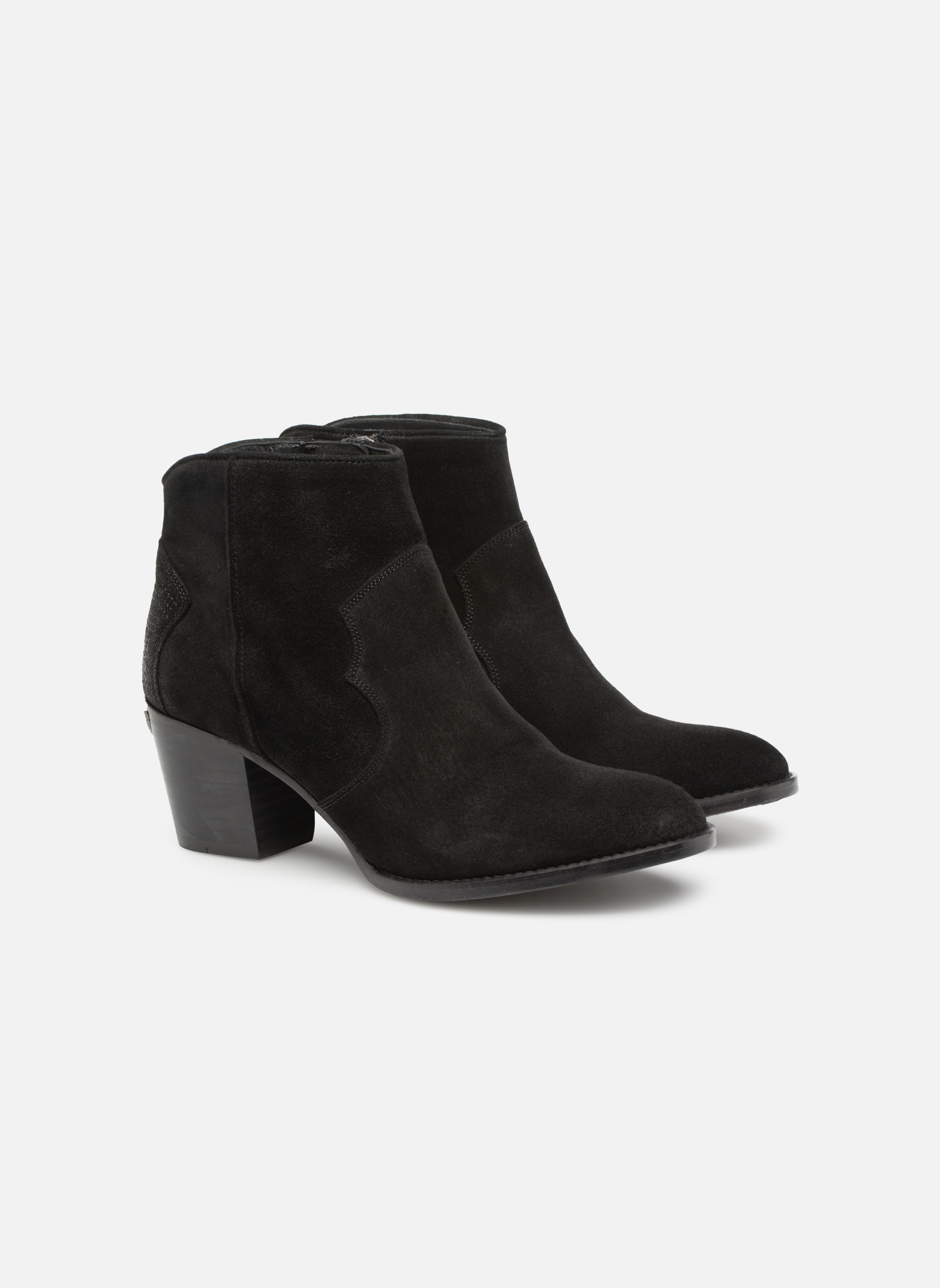 Ankle boots Zadig & Voltaire Molly Black 3/4 view