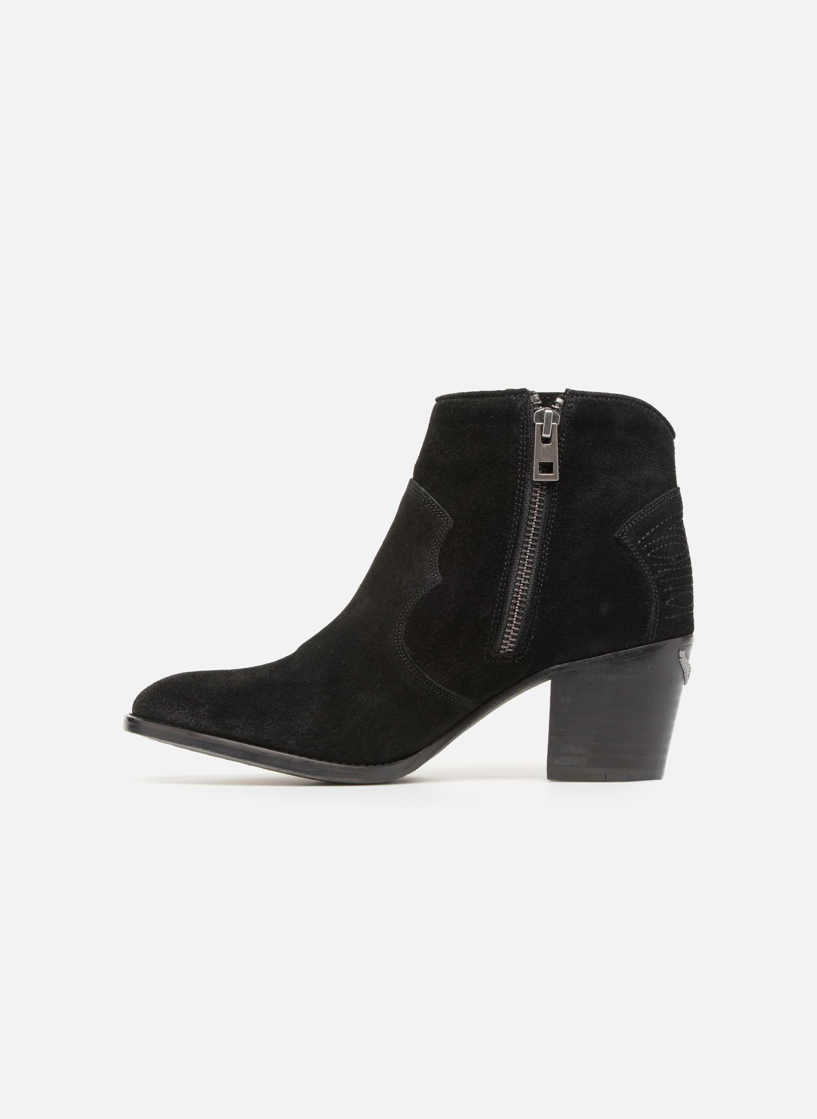 Ankle boots Zadig & Voltaire Molly Black front view