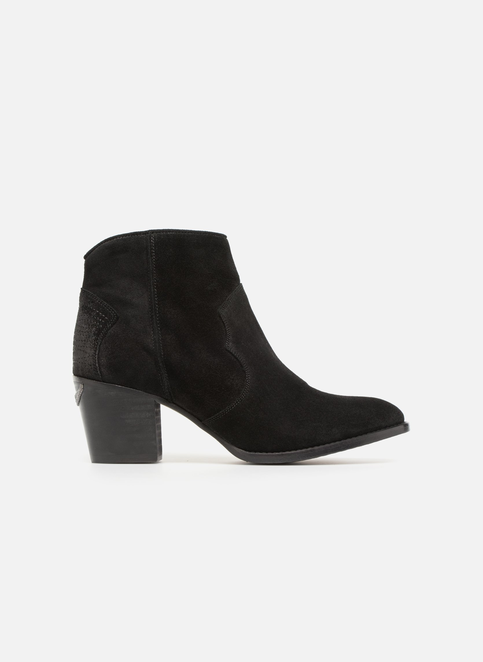 Ankle boots Zadig & Voltaire Molly Black back view