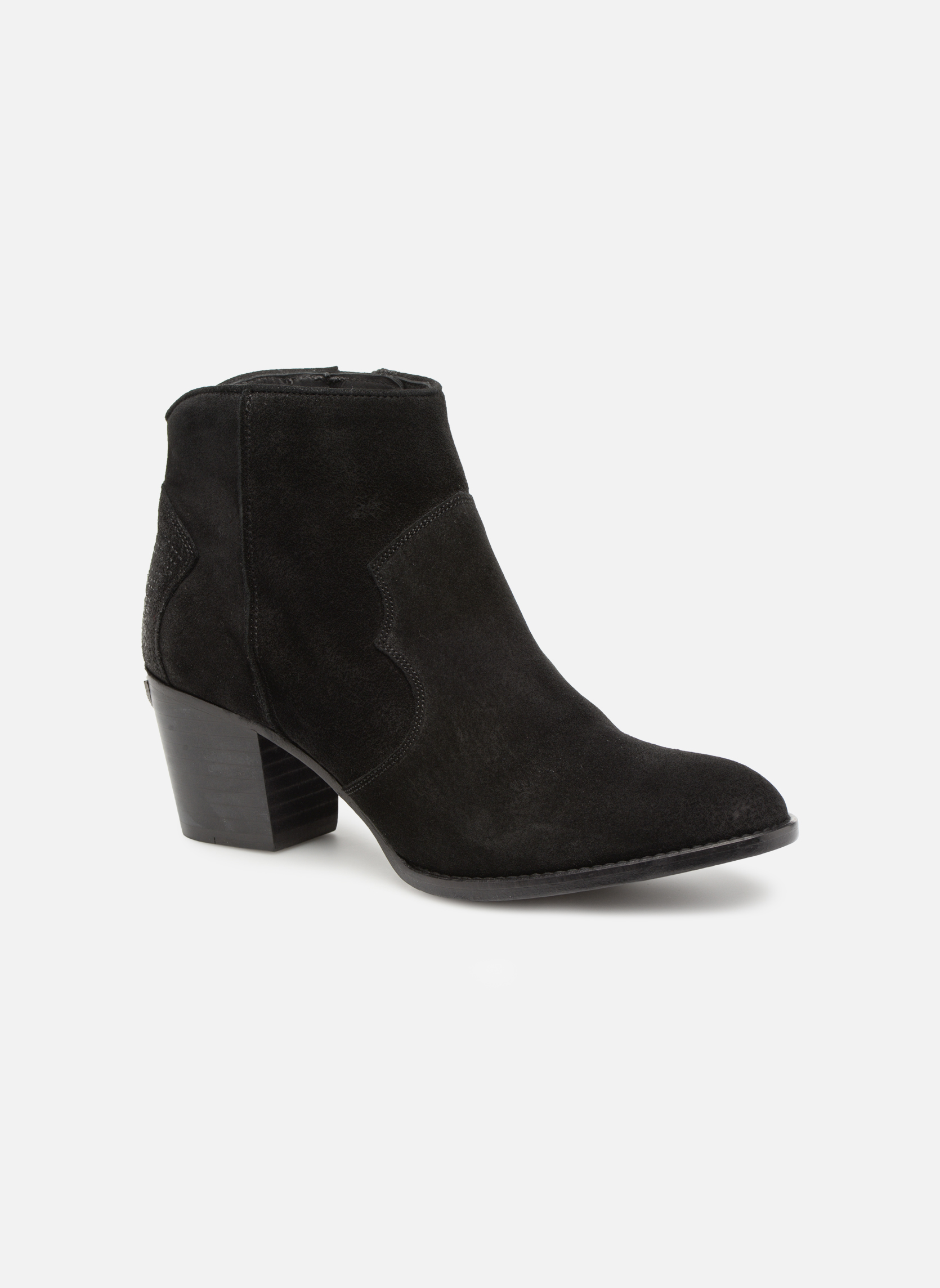 Ankle boots Zadig & Voltaire Molly Black detailed view/ Pair view