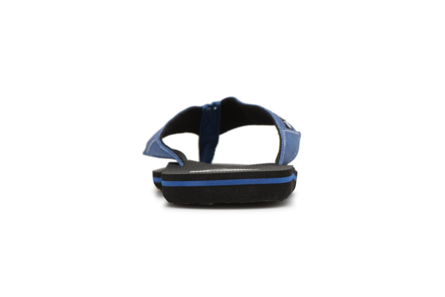 Flip flops Quiksilver Molokai Abyss Blue view from the right