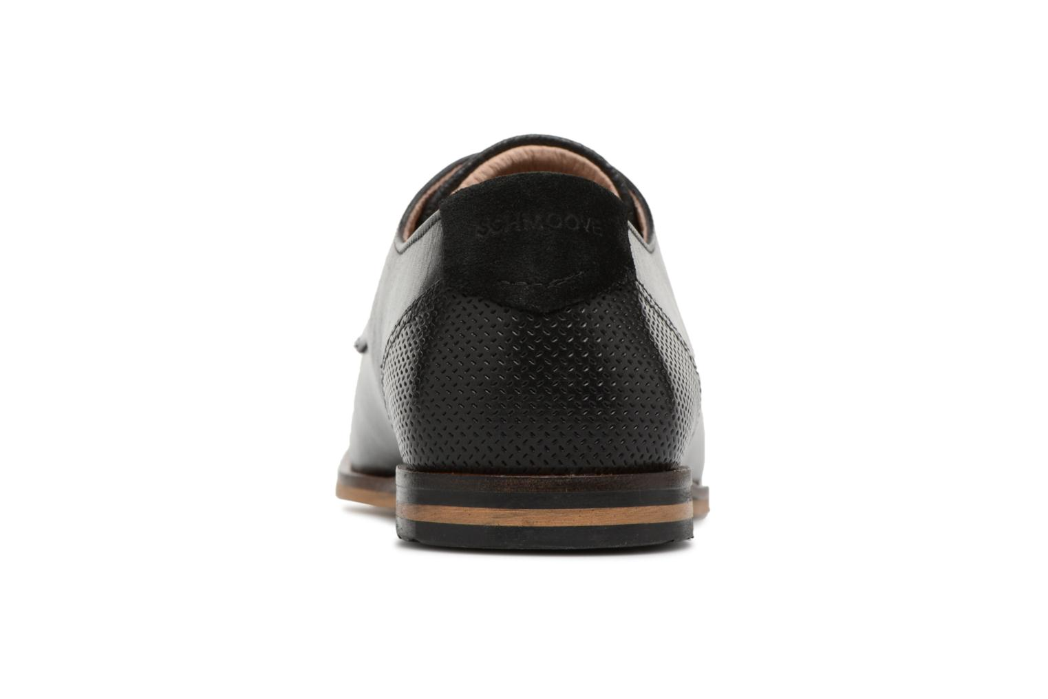 Lace-up shoes Schmoove Swan Derby Tornado/Motta Black view from the right
