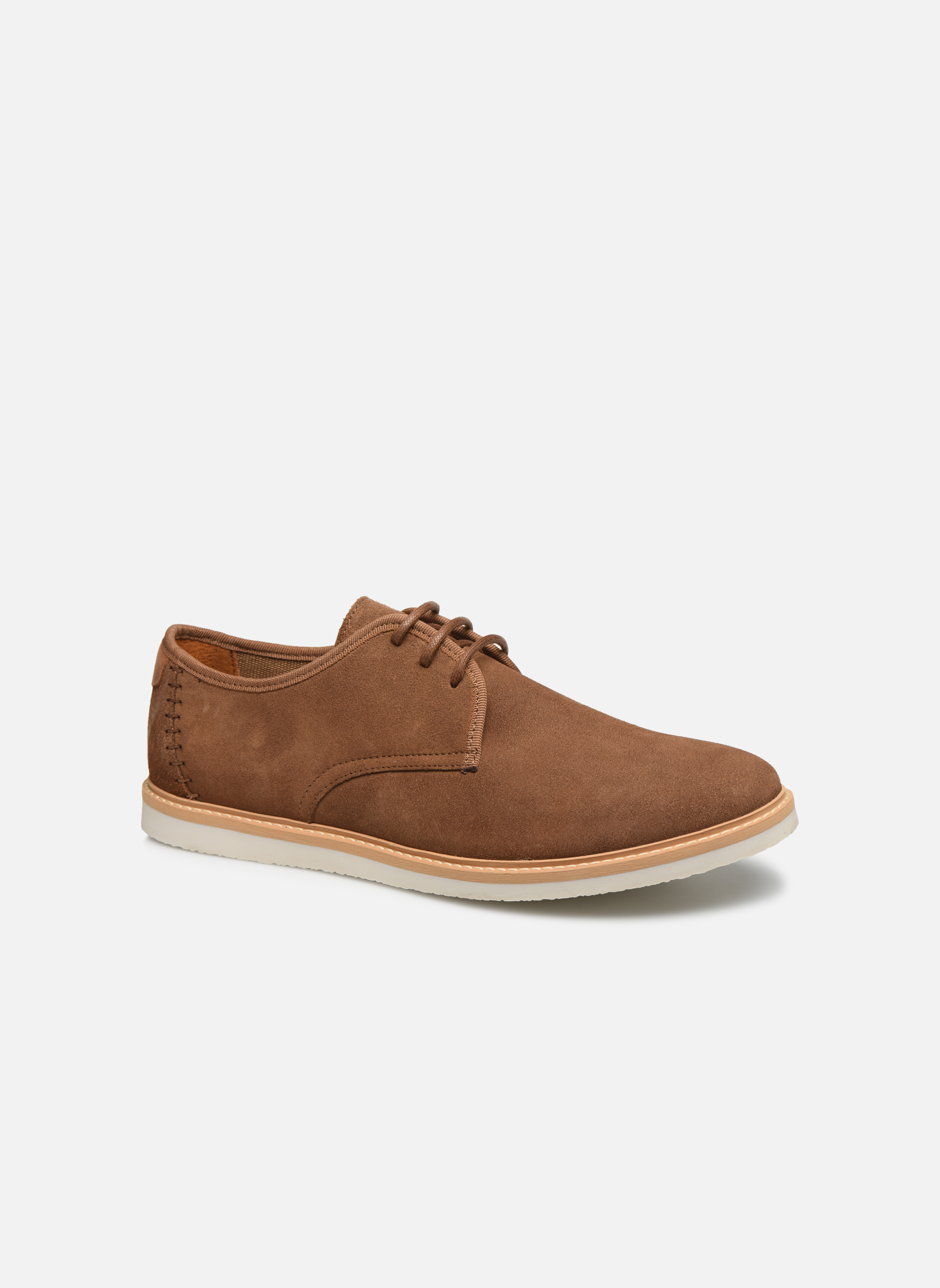 Lace-up shoes Men Fly Derby Suede