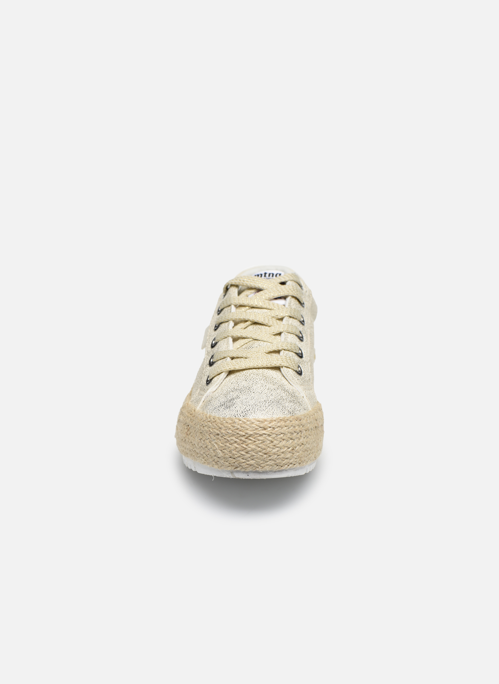 Espadrilles MTNG Caribe Or et bronze vue portées chaussures