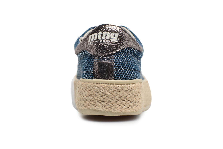 Mesh satin Marino MTNG Akira (Bleu)