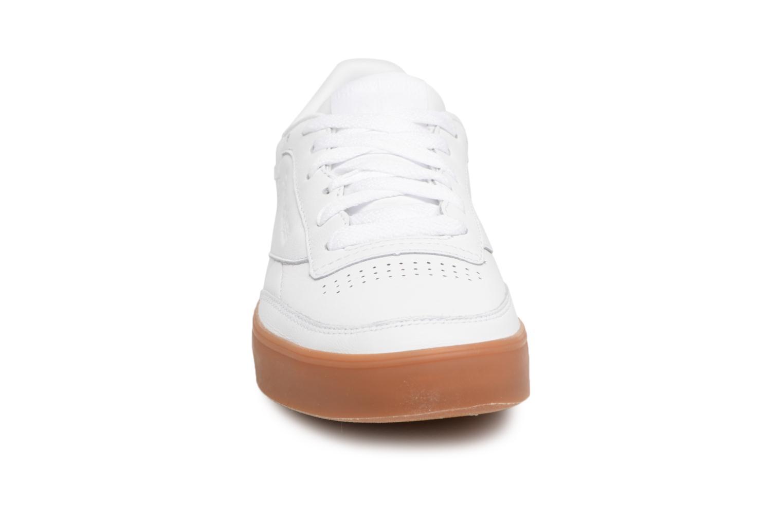 White/gum Reebok Club C 85 Fvs (Blanc)