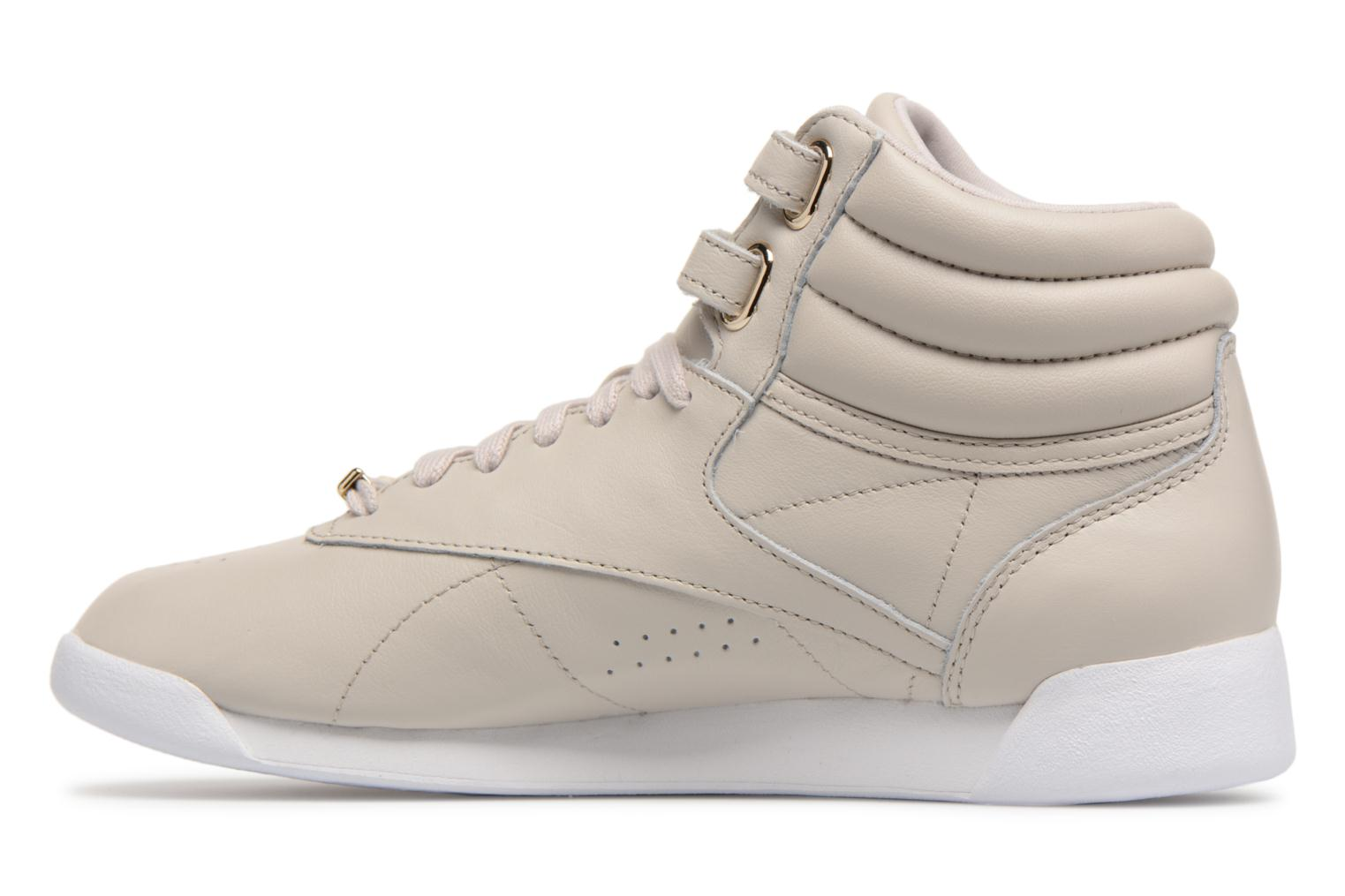 Baskets Reebok Freestyle Hi Muted Gris vue face
