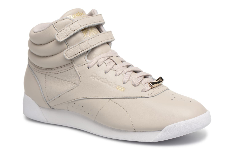 Freestyle Hi Muted Sandstone/White
