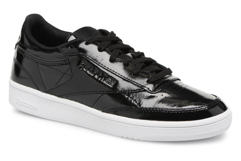 Zapatos promocionales Reebok Club C 85 Patent (Negro) - Deportivas   Gran descuento