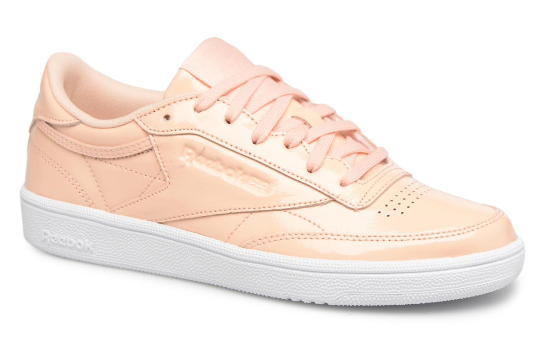 Zapatos promocionales Reebok Club C 85 Patent (Rosa) - Deportivas   Descuento de la marca