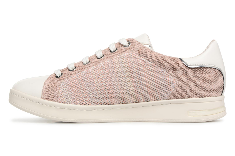 Sneaker Geox D JAYSEN A D821BA beige ansicht von vorne