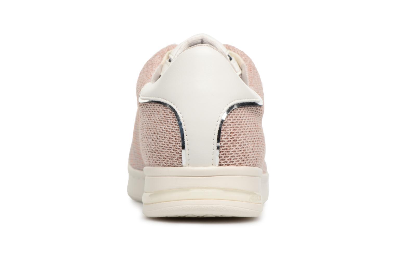 Sneaker Geox D JAYSEN A D821BA beige ansicht von rechts