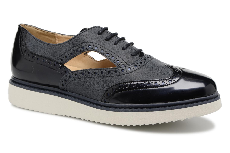 Geox D THYMAR A D824BA (Bleu) - Chaussures à lacets chez Sarenza (316344)