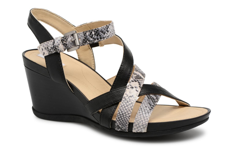 Grandes descuentos últimos zapatos Geox D DOROTHA C D828TC (Negro) - Sandalias Descuento