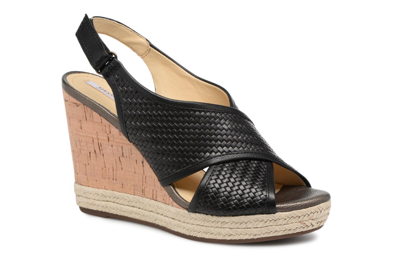 Grandes descuentos últimos zapatos Geox D JANIRA C D82P6C (Negro) - Sandalias Descuento