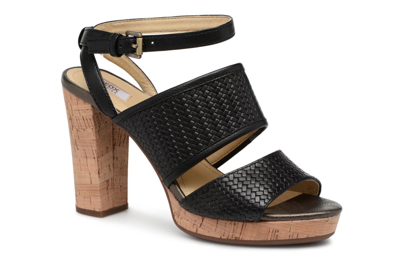 Marques Chaussure femme Geox femme D MAUVELLE A D824LA Black