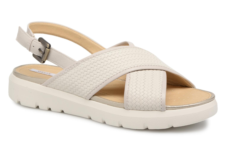 Grandes descuentos últimos zapatos Geox D AMALITHA B D827WB (Blanco) - Sandalias Descuento