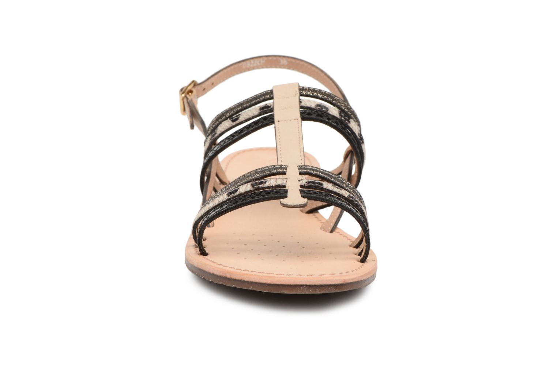 Sandales et nu-pieds Geox D SOZY H D822CH Noir vue portées chaussures