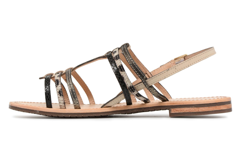 Sandales et nu-pieds Geox D SOZY H D822CH Noir vue face