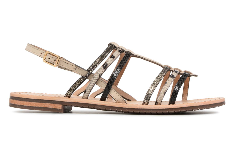 Sandales et nu-pieds Geox D SOZY H D822CH Noir vue derrière