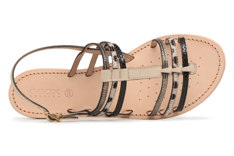 Sandales et nu-pieds Geox D SOZY H D822CH Noir vue gauche
