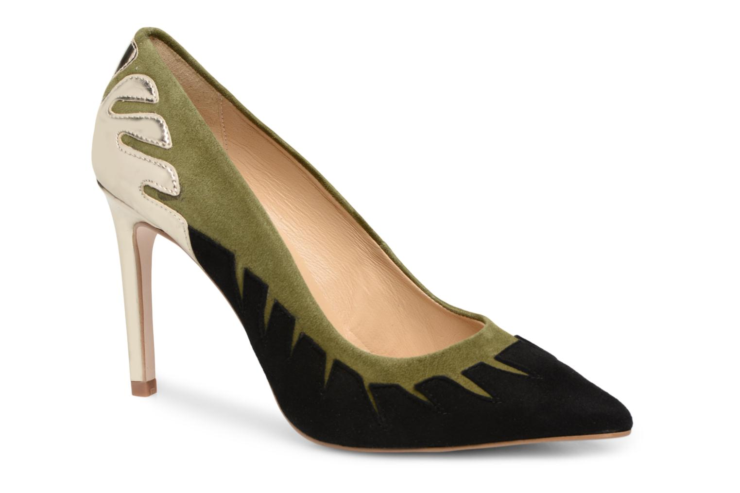 High heels Made by SARENZA Carioca Crew Escarpins #9 Green view from the right