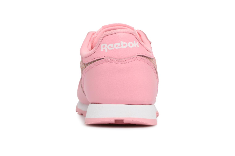 Pink/White Reebok Cl Leather Spring (Rose)