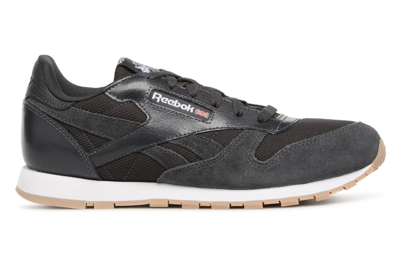 Coal/White Reebok Cl Leather Estl J (Noir)