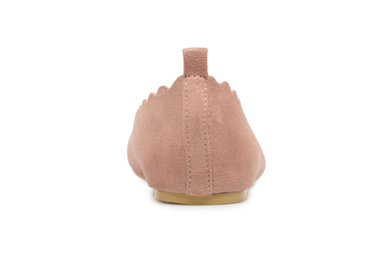 I Suedine Pink CAFESTON Shoes Love OqIzrO