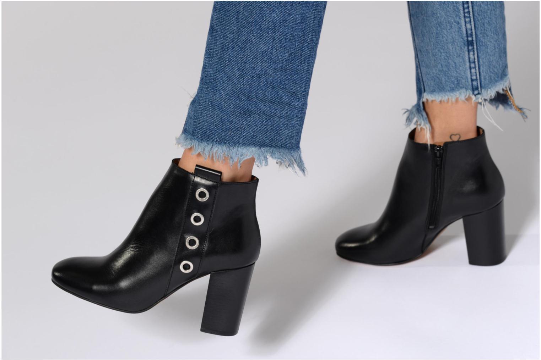 90's Girls Gang Boots #2 Cuir Lisse Noir