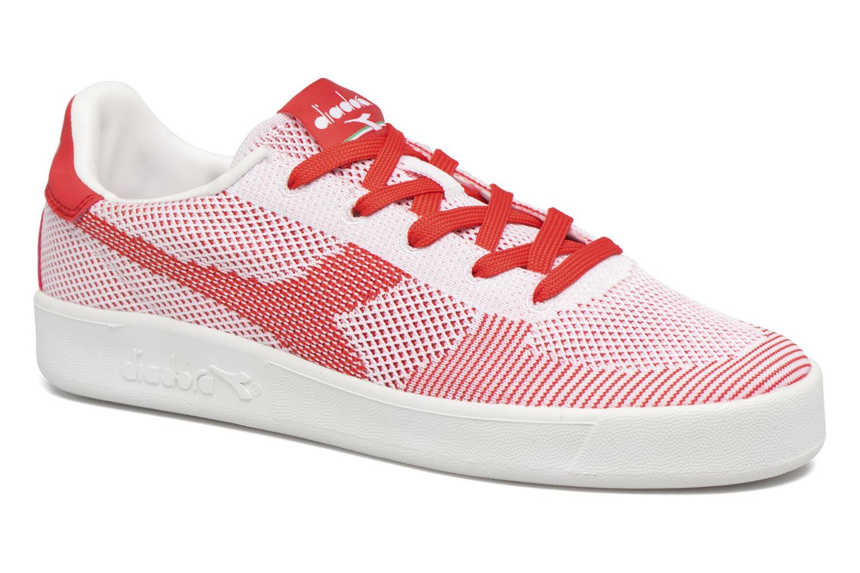 Bianco/Bianco/Rosso Diadora B.ELITE SPW WEAVE (Rouge)