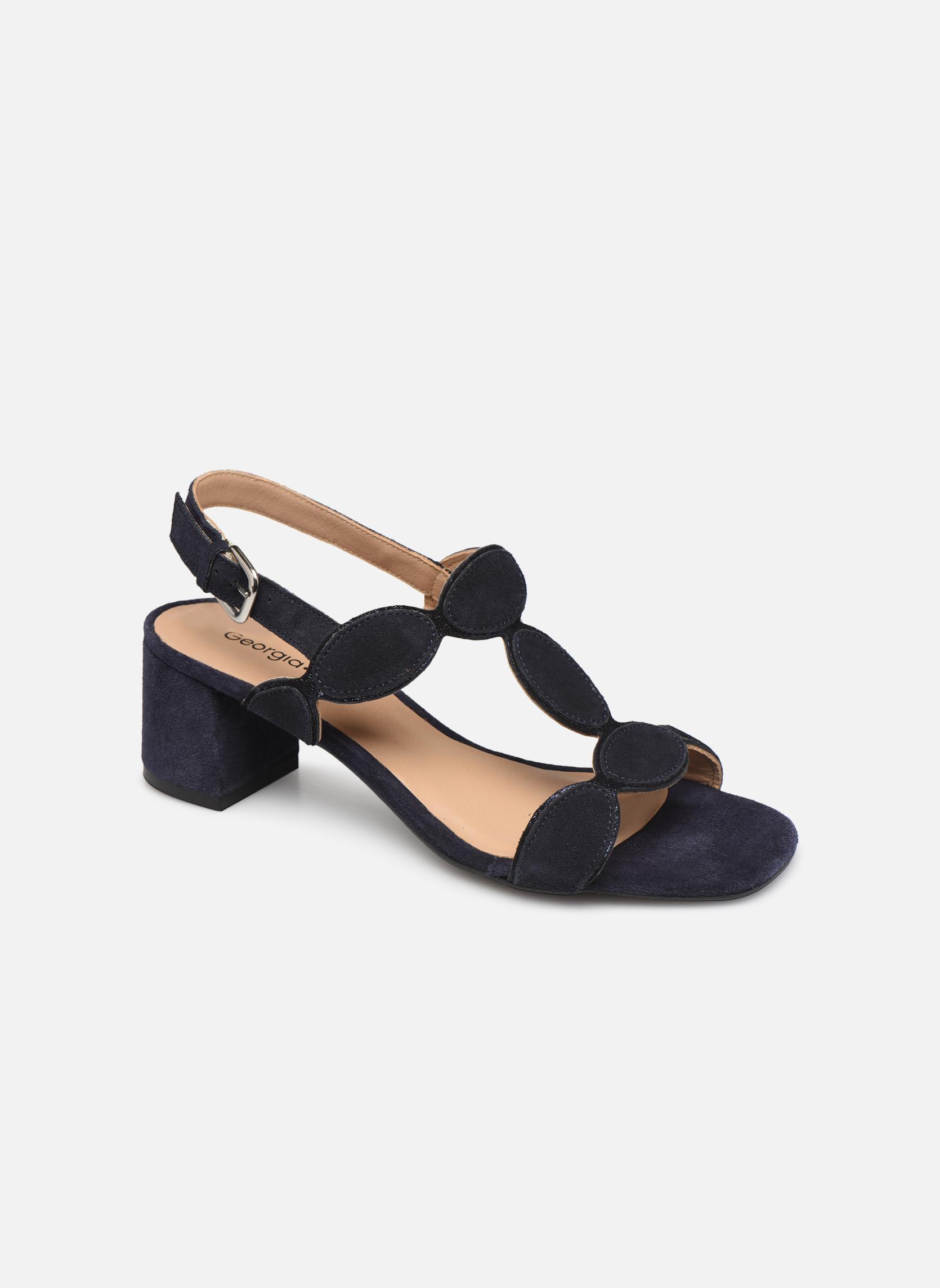 Zapatos promocionales Georgia Rose Covala (Negro) - Sandalias   Venta de liquidación de temporada