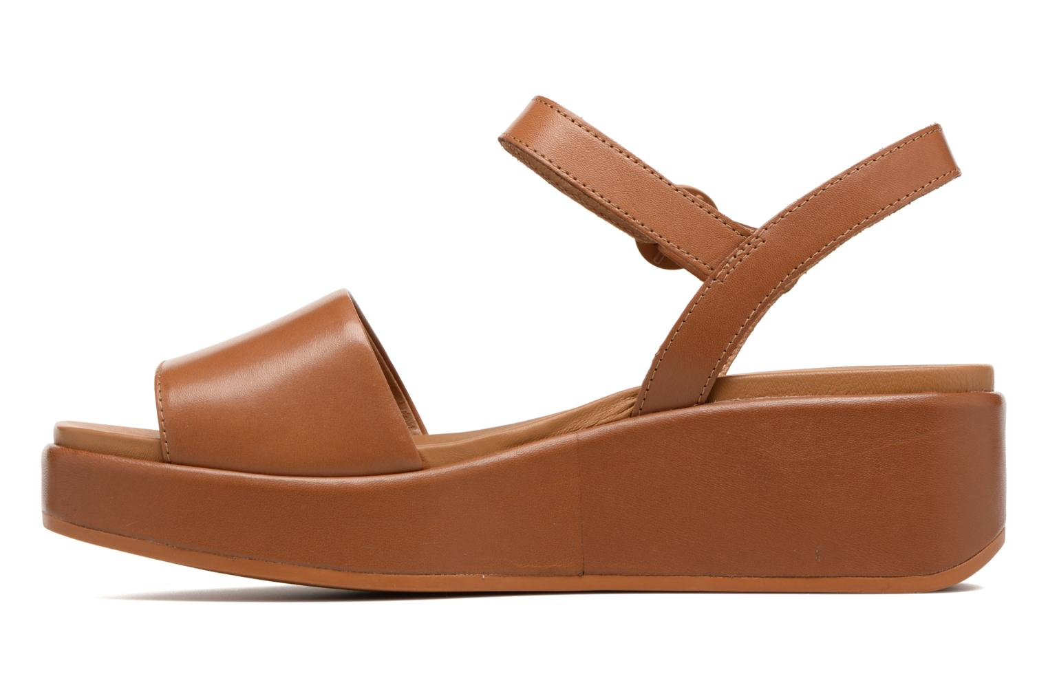 Sandals Camper Misia 4 Brown front view