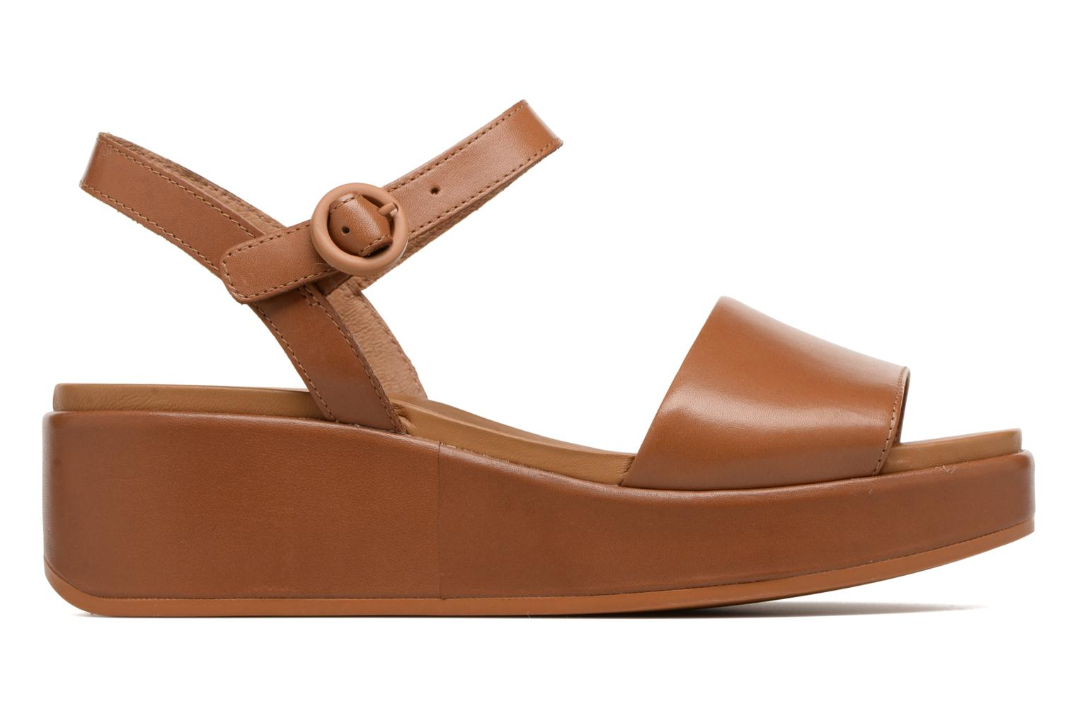 Sandals Camper Misia 4 Brown back view
