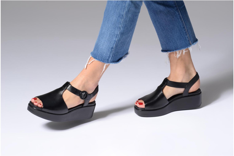 Sandales et nu-pieds Camper Misia 5 Noir vue bas / vue portée sac