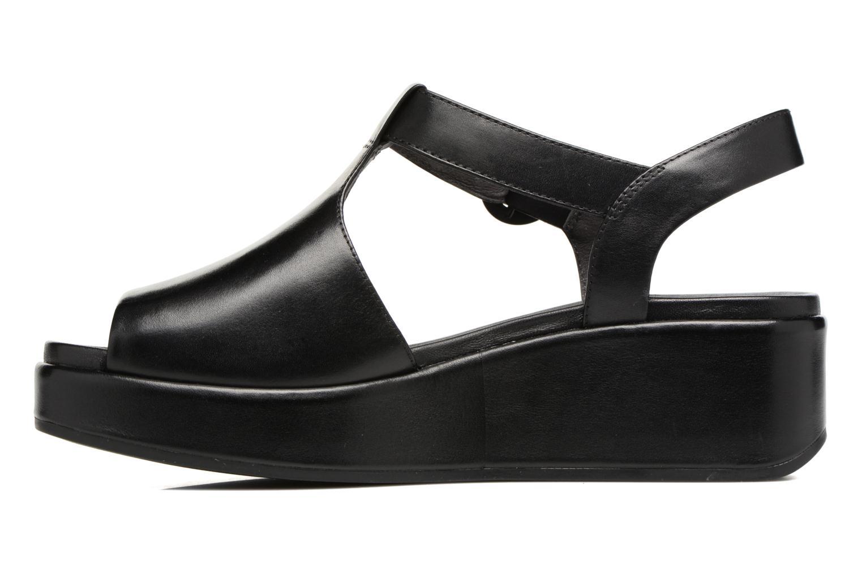 Sandales et nu-pieds Camper Misia 5 Noir vue face